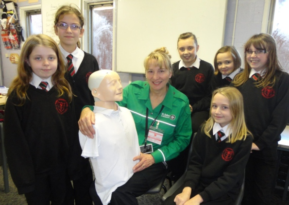 school first aid training