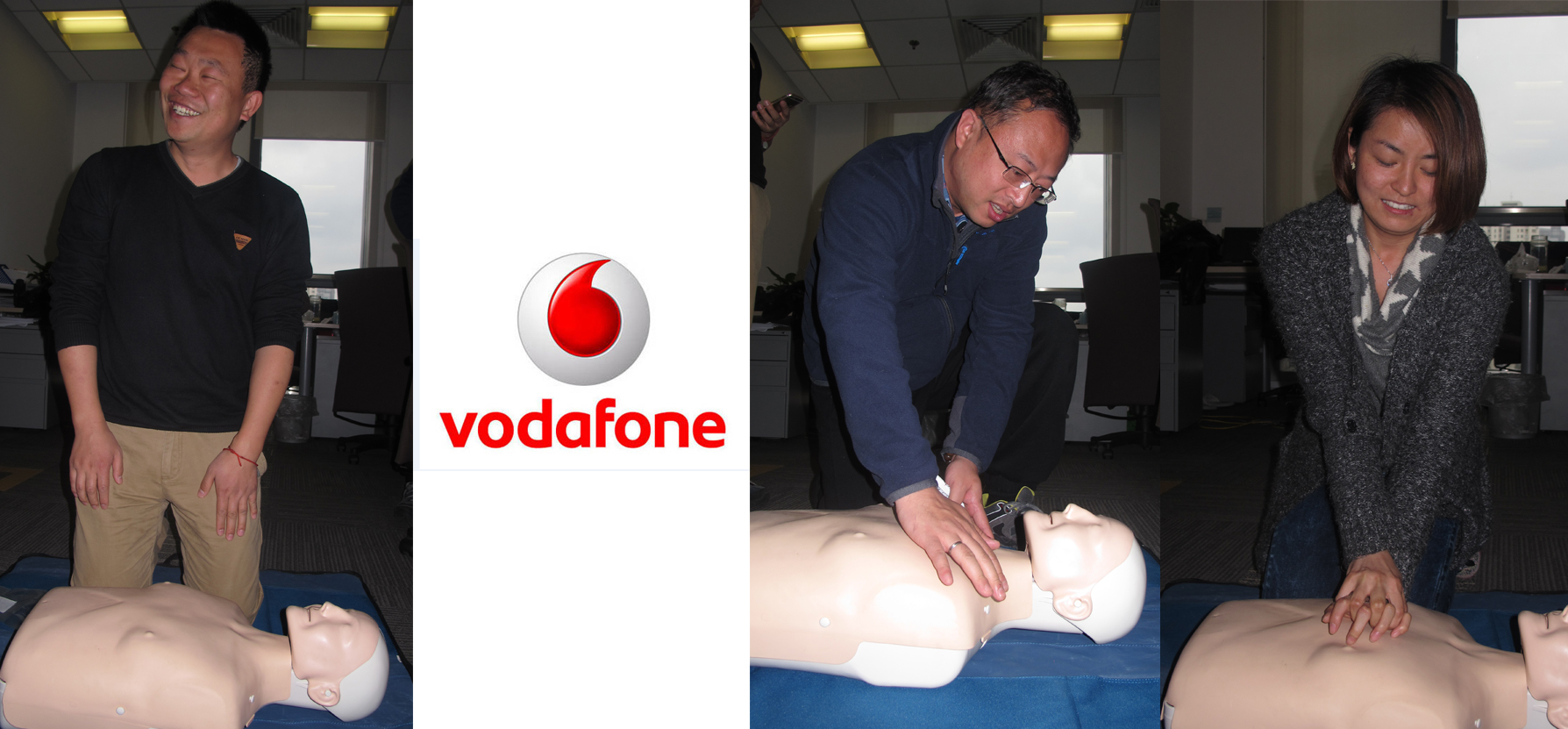 vodafone firstaid training